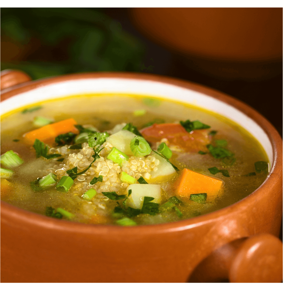 Pearl Barley & Winter Vegetable Soup